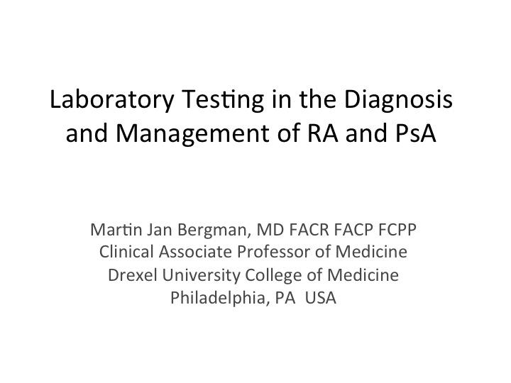 rheumatoid arthritis diagnostic criteria pdf