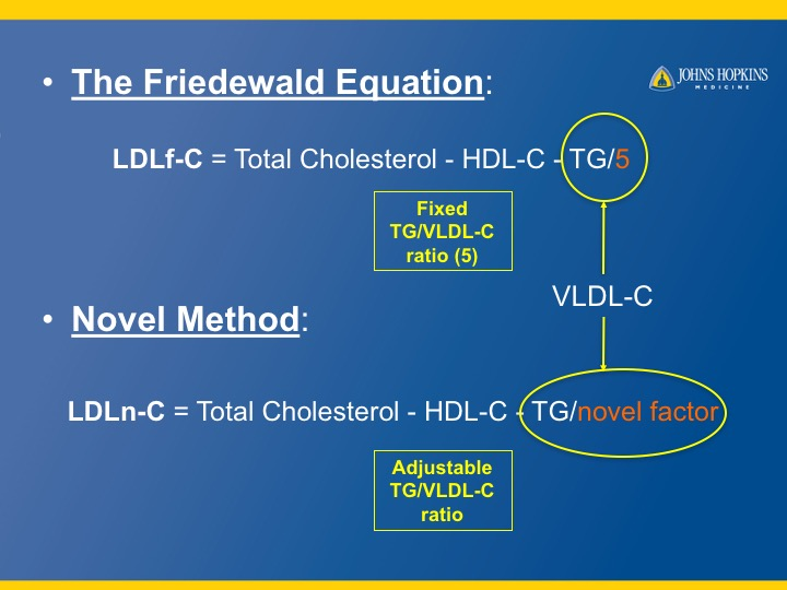 Modernizing The Ldl C Calculation To Improve Patient Care