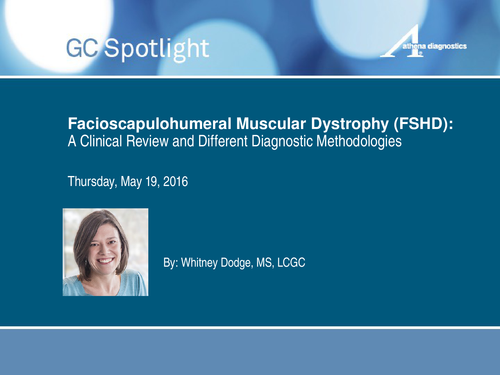 Facioscapulohumeral Muscular Dystrophy (FSHD) Clinical
